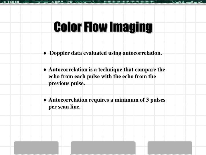 Color Flow Imaging