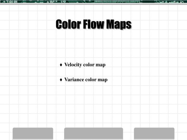 Color Flow Maps