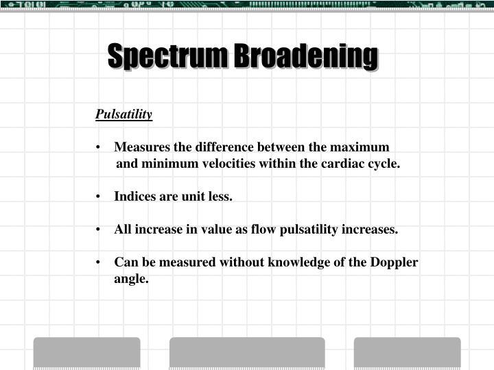 Spectrum Broadening