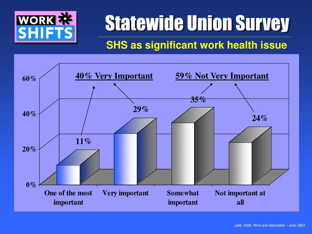 Statewide Union Survey