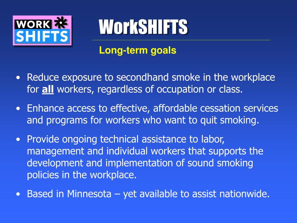 WorkSHIFTS