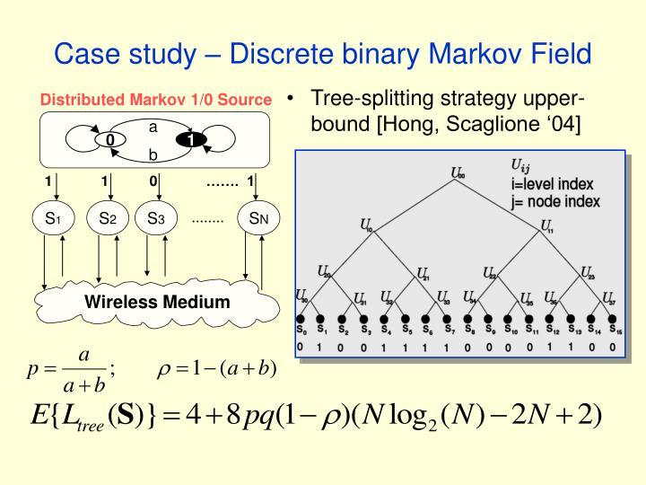Distributed Markov 1/0 Source