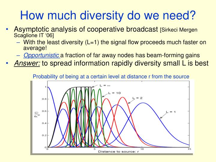 How much diversity do we need?