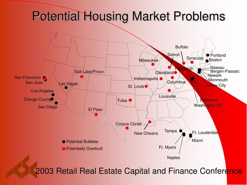 Potential Housing Market Problems