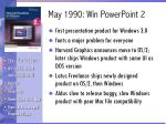 may 1990 win powerpoint 2