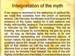 interpretation of the myth33