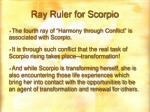 ray ruler for scorpio