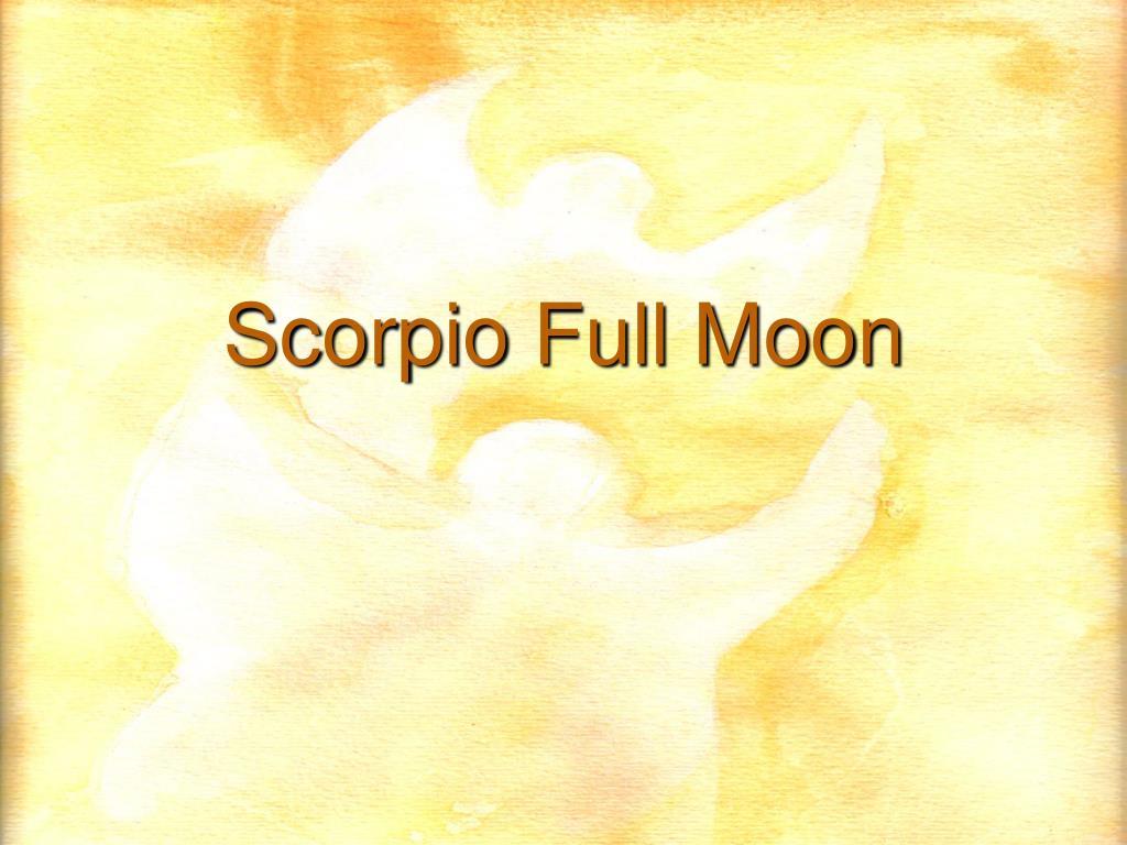 scorpio full moon l.