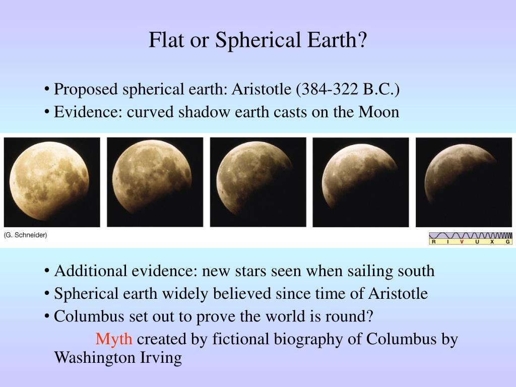 Flat or Spherical Earth?