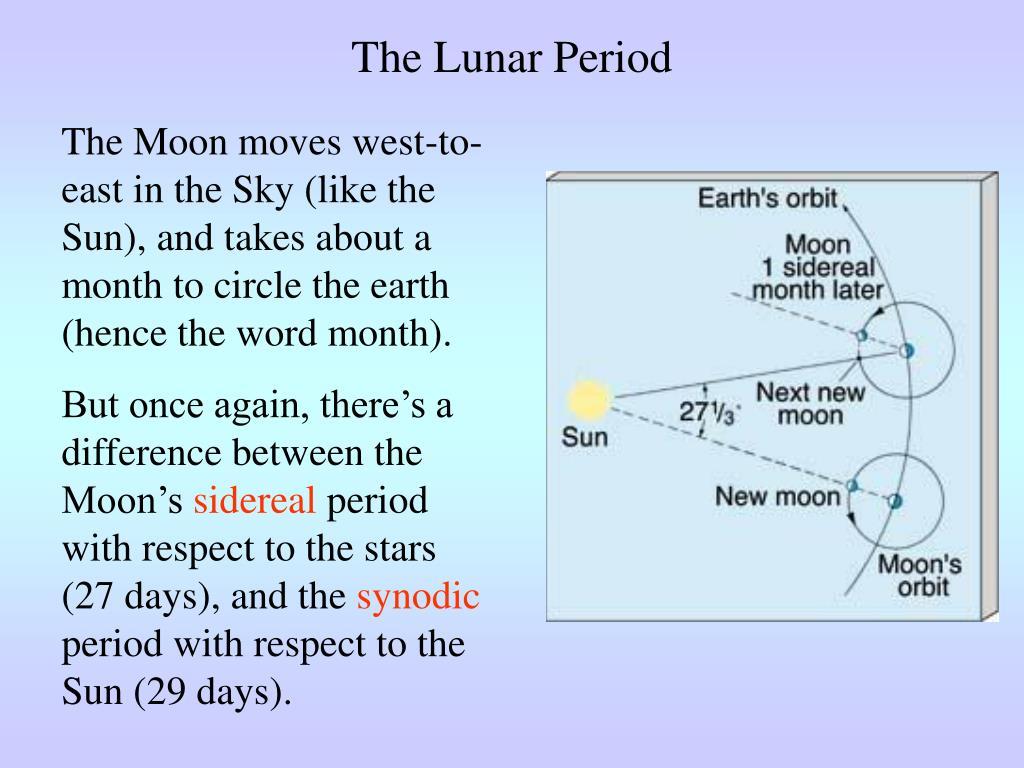 The Lunar Period