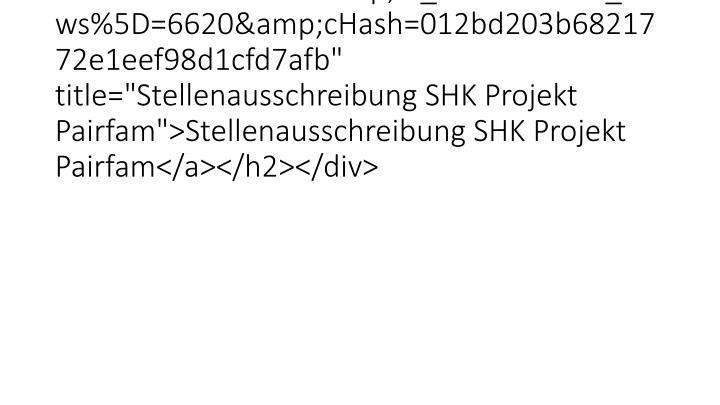 """<h2 class=""""clearfix""""><a href=""""26528.html?&tx_ttnews%5Btt_news%5D=6620&cHash=012bd203b6821772e1eef98d1cfd7afb"""" ti"""