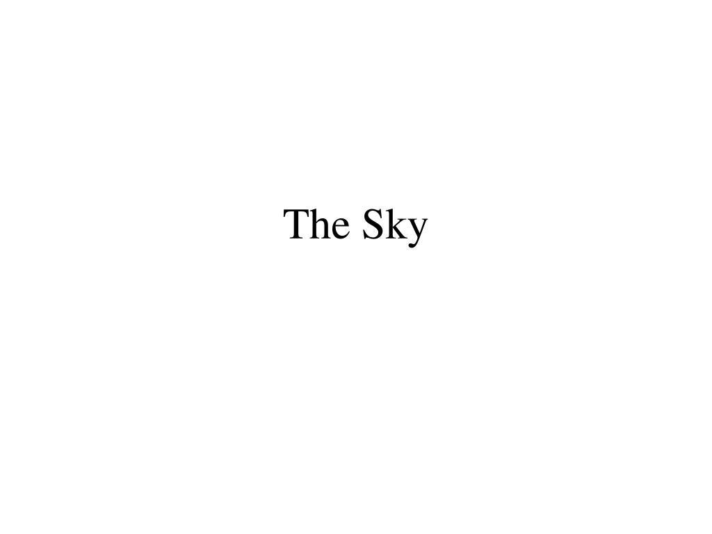 the sky l.