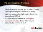 the birefringence principle
