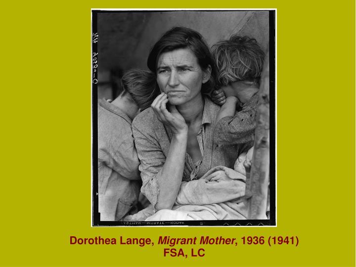dorothea lange essay migrant mother