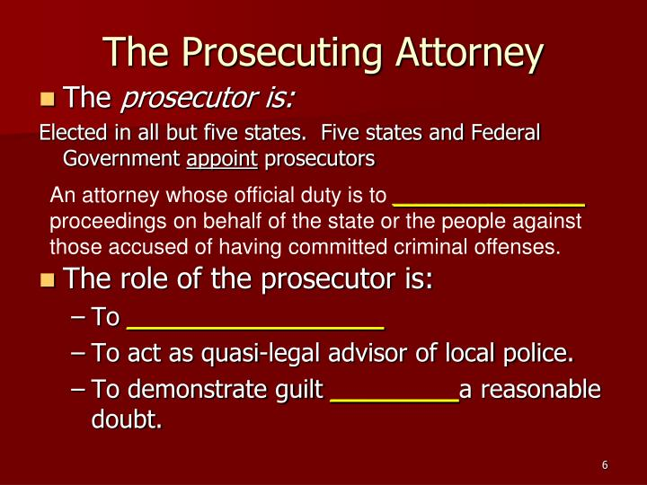 the advantages of the prosecutorial discretion