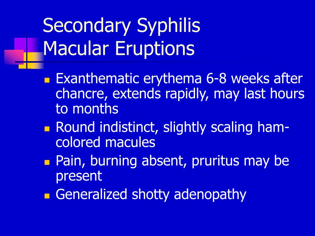 Ppt - Syphilis Powerpoint Presentation  Free Download