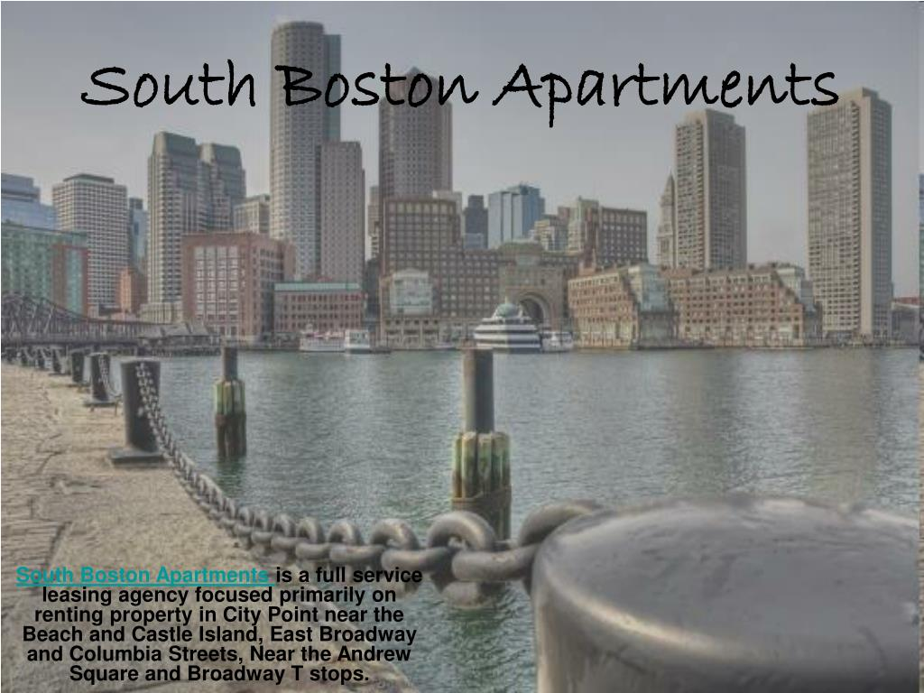 south boston apartments l.