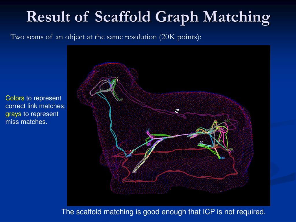 Result of Scaffold Graph Matching