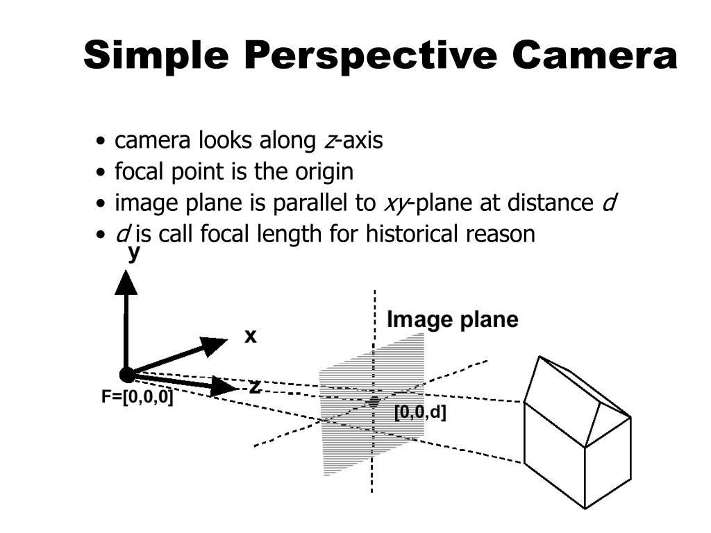 Simple Perspective Camera