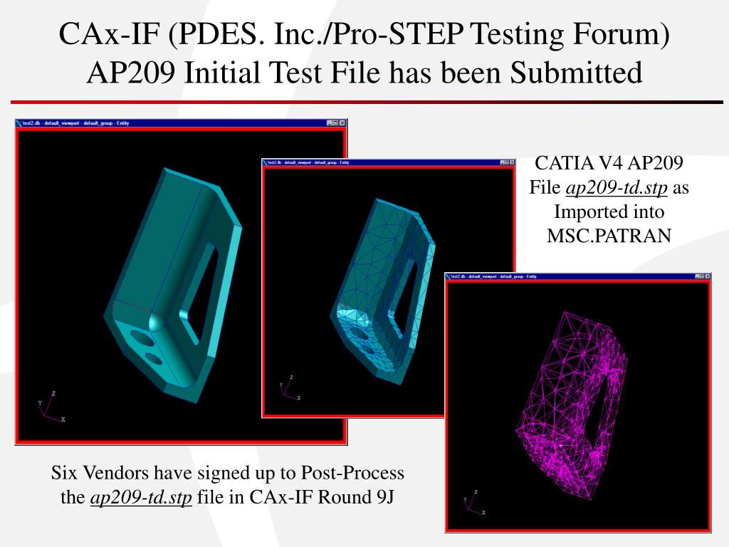 CAx-IF (PDES. Inc./Pro-STEP Testing Forum)