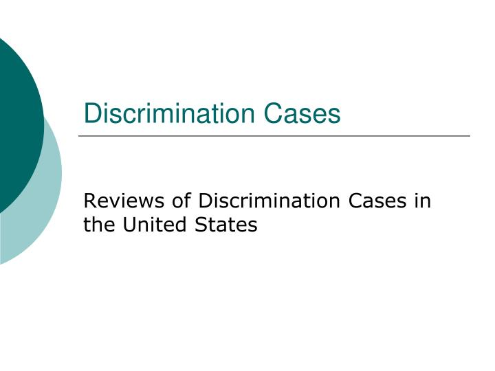 affinity orientation discrimination cases study Affinity orientation discrimination case studies imagine that you are a department manager and you find out that a man you work with has become a woman, or you find.
