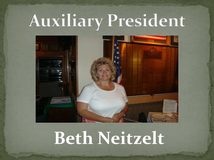 Auxiliary president