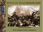 jesus as teacher rabbi5