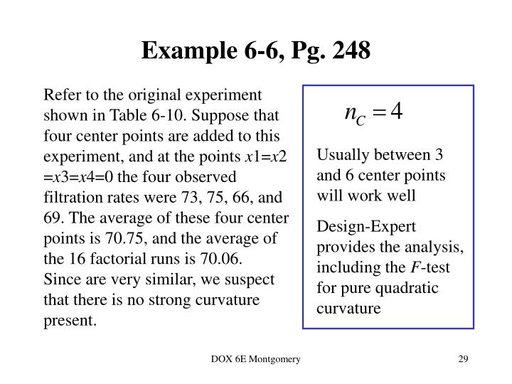 Example 6-6, Pg. 248