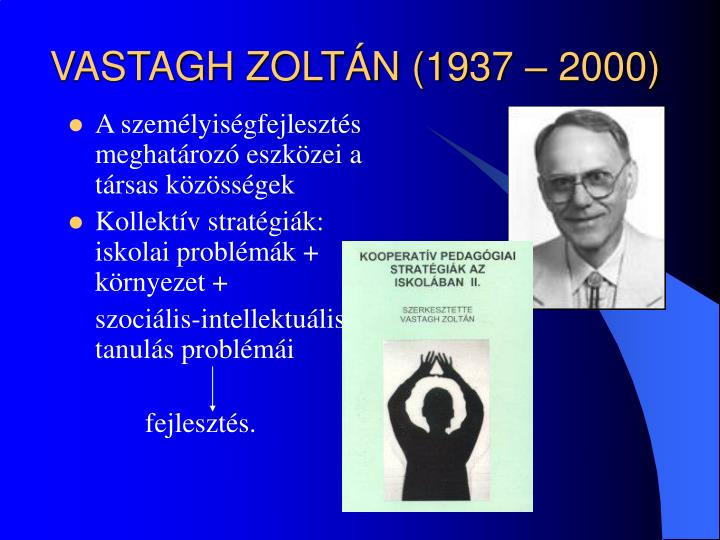 VASTAGH ZOLTÁN (1937 – 2000)