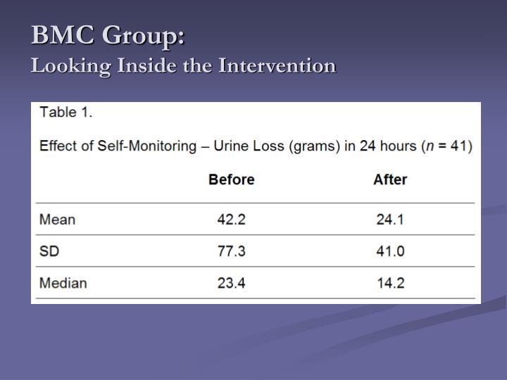 BMC Group:
