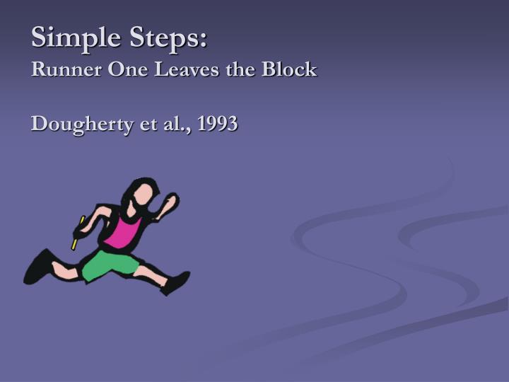 Simple Steps: