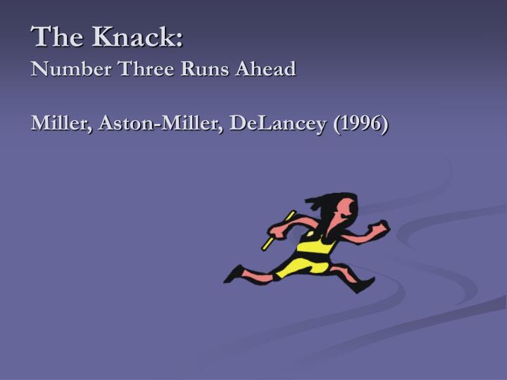 The Knack: