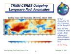 trmm ceres outgoing longwave rad anomalies