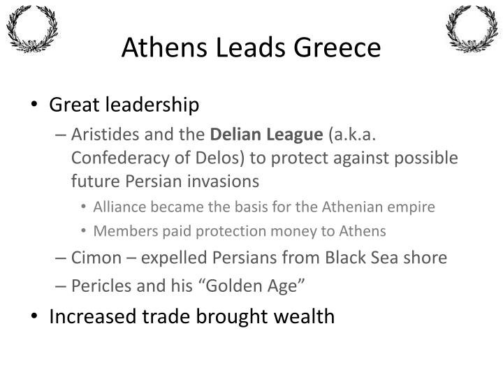Athens Leads Greece