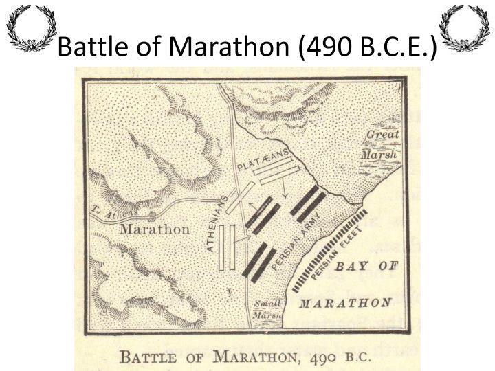 Battle of Marathon (490 B.C.E.)