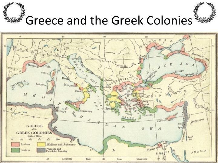 Greece and the Greek Colonies