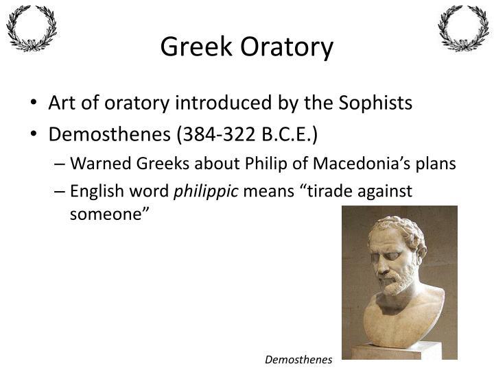 Greek Oratory