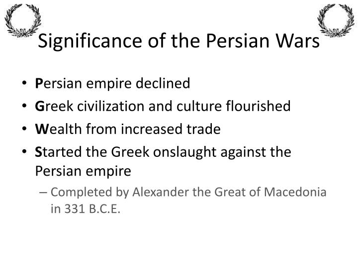 Significance of the Persian Wars