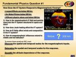 fundamental physics question 1