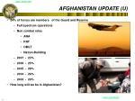 afghanistan update u