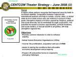 centcom theater strategy june 2008 u