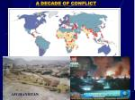 a decade of conflict