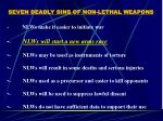 seven deadly sins of non lethal weapons19