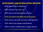 seven deadly sins of non lethal weapons23