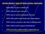 seven deadly sins of non lethal weapons30