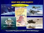 what new arms race