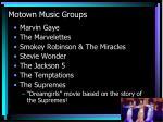 motown music groups
