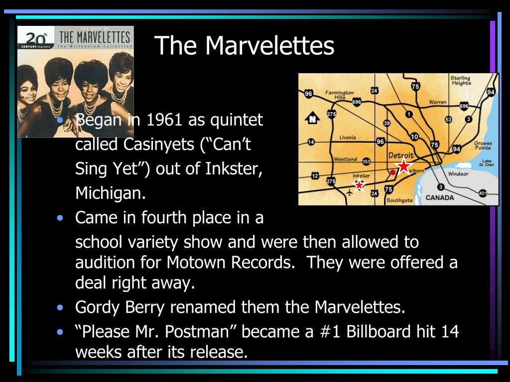 The Marvelettes