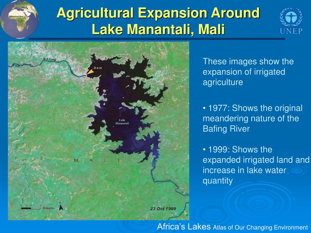 Agricultural Expansion Around