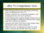 ebay vs competition facts